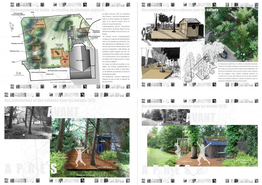 Aménagement du jardin : création d'espaces