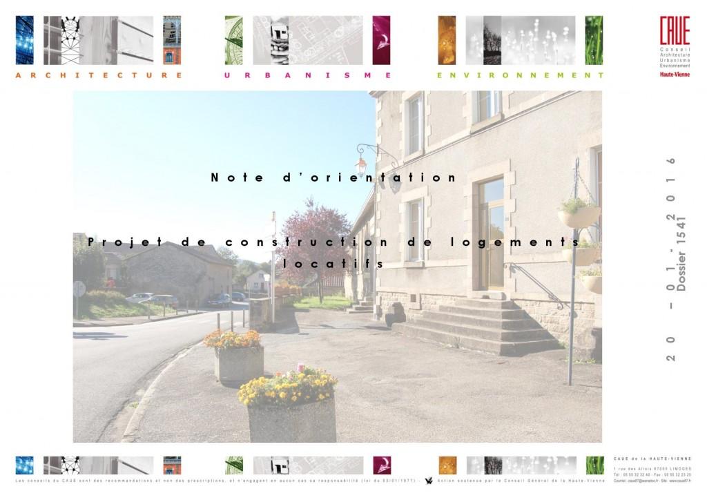 Projet de construction de logements locatifs