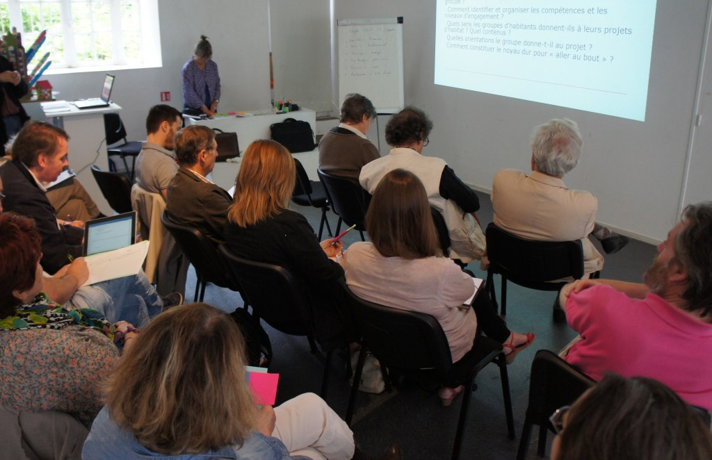 Atelier Habitat Participatif  CAUE 87 et Association DML