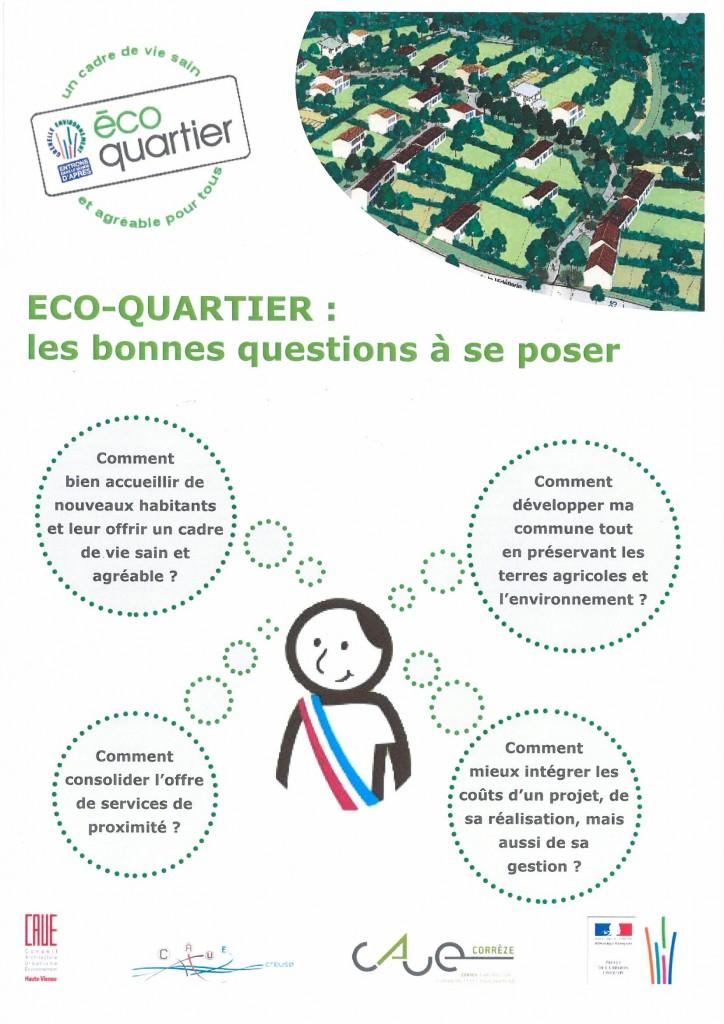 Eco quartier : les bonnes questions à se poser