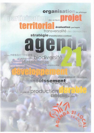 Agenda 21 projet de développement durable