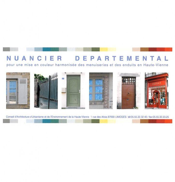 Nuancier départemental de la Haute-Vienne