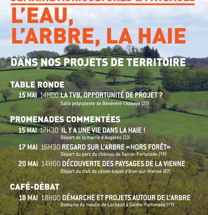 Semaine Agricultures et Paysages édition 2017