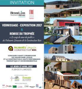 """Vernissage & remise du trophée """"coup de coeur du public de la construction bois"""""""
