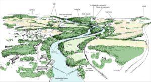 lecture du paysage de la Vienne : découverte du patrimoine naturel, culturel et industriel en canoë