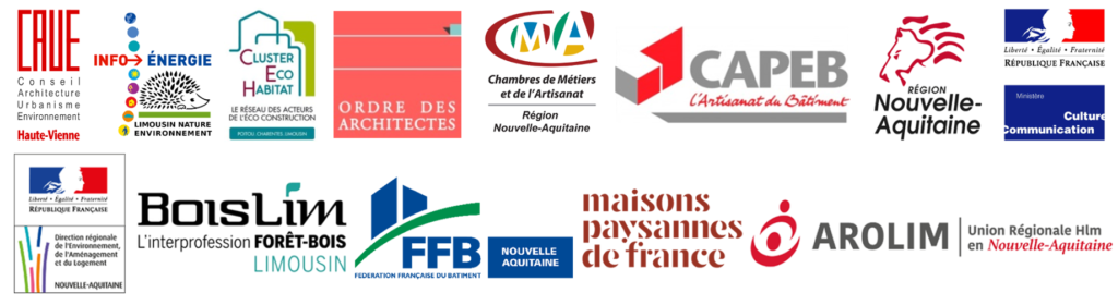 Partenaires Objectif BEPOS 2018 de Nouvelle-Aquitaine