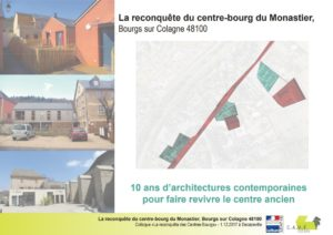 MONASTIER -10 ans d'architectures contemporaines pour faire revivre le centre ancien