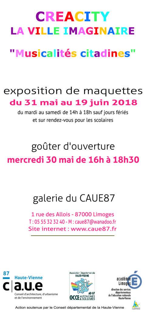 Exposition Créacity La ville imaginaire