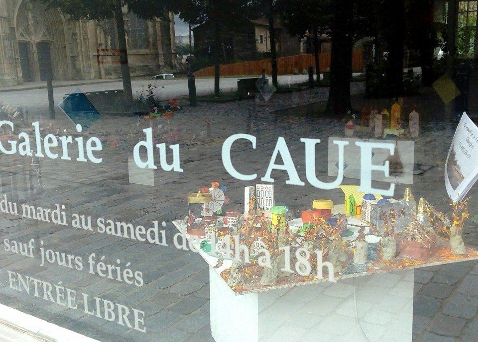 Galerie caue 87 - Exposition Creacity La ville imaginaire - Limoges